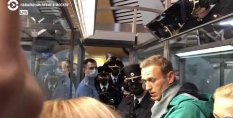 PRELOMNA VIJEST: Uhapšen Alexei Navalny!
